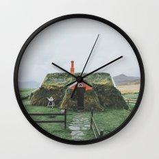Icelandic Village Wall Clock
