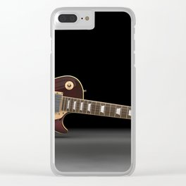Blues Icon Clear iPhone Case