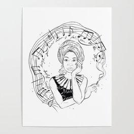 Nina Simone Poster