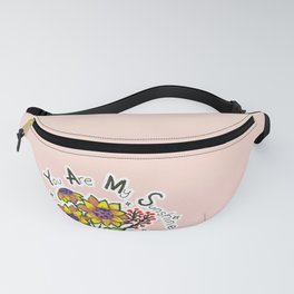 Sunflower Bouquet - you are my sunshine Fanny Pack
