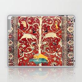 Silk Heriz Azerbaijan Northwest Persian Rug Print Laptop & iPad Skin