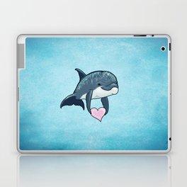 Love Ya! ~ Baby Dolphin by Amber Marine ~ Blue ~ (Copyright 2014) Laptop & iPad Skin