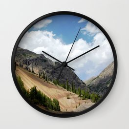 View North from the Eureka Mine, on the Alpine Loop Wall Clock