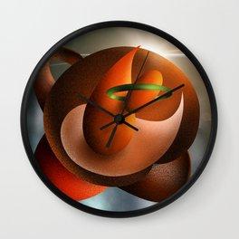 Wild Planets Wall Clock