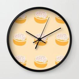 Ich bin ein Berliner (Krapfen) Wall Clock