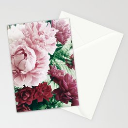 Peony Passion 2 Stationery Cards