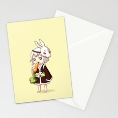 Bunny Mask Stationery Cards