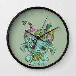 Everyone has parasites Wall Clock