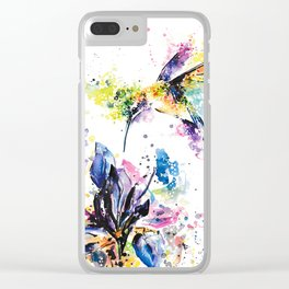 Hummingbird 2 Clear iPhone Case