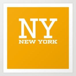 NY New York City Art Print