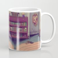 shabby chic Mugs featuring Shabby Chic by Ben Geiger