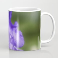 Purple Bearded Iris Mug