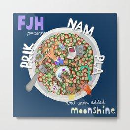 Prik Nam Pla/ Moonshine Metal Print