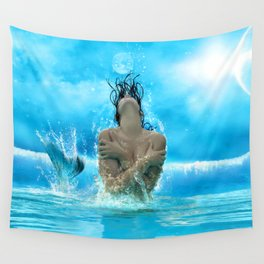 Pritty Sirena Wall Tapestry