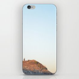Sunset at Lighthouse in East Hampton iPhone Skin