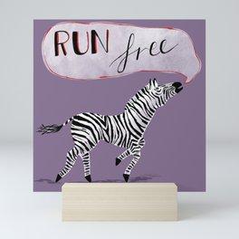 Run Free Mini Art Print