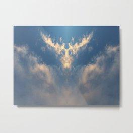 Horned-God I Metal Print