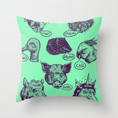 Pet Sounds Throw Pillow