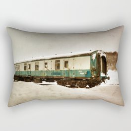 Out in the Cold Rectangular Pillow