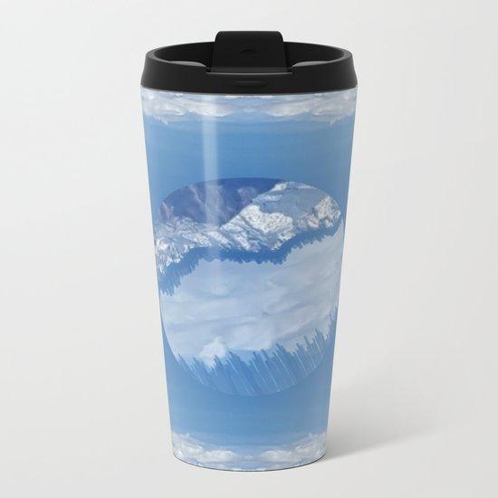 Centered Metal Travel Mug