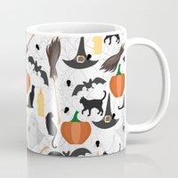 halloween Mugs featuring Halloween by Julia Badeeva