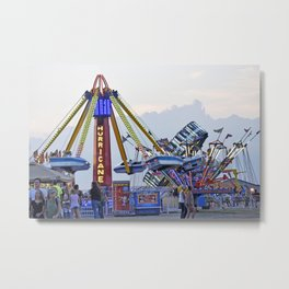 At The Fair Metal Print