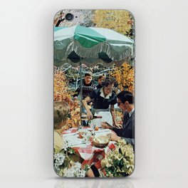 Drink up (before the kids are back) iPhone Skin