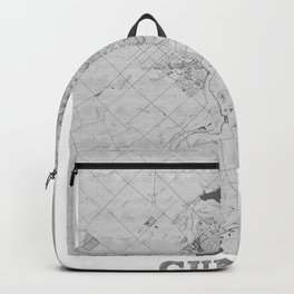 Guelph Pencil City Map Backpack