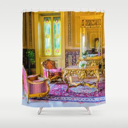 Victorian Boho Shower Curtain
