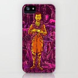 Adam in Wonderland iPhone Case