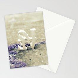 Backwards LOVE Stationery Cards