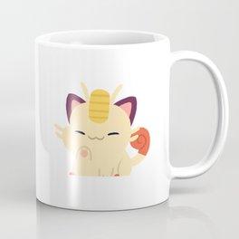 Lucky Meowth Coffee Mug