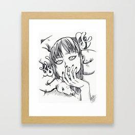 Snek Grl Framed Art Print