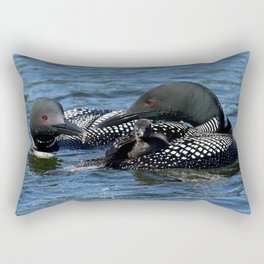 Team Effort Rectangular Pillow