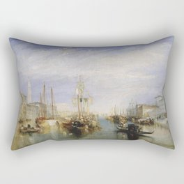 William Turner - The Grand Canal Rectangular Pillow