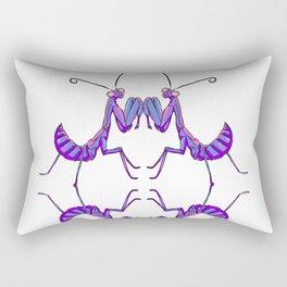 The Quad purple Rectangular Pillow