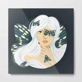 Mother of Moths Metal Print