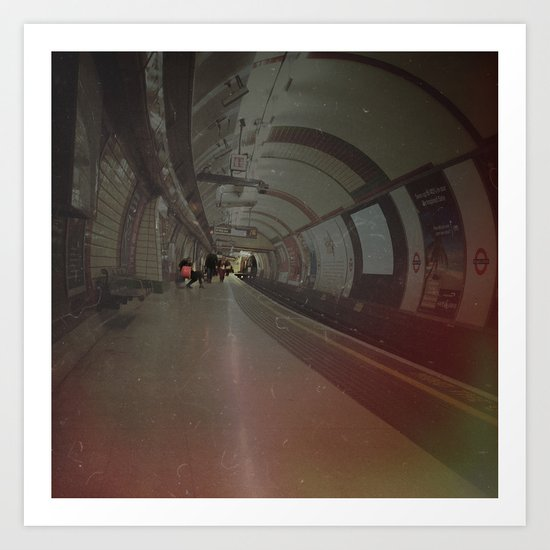 London Underground. Art Print