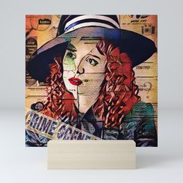 Freddie Lounds Investigates the Chesapeake Ripper Mini Art Print