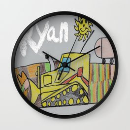 Spreading the LandFill Wall Clock