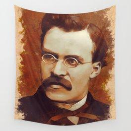 Friedrich Nietzsche, Philosopher Wall Tapestry