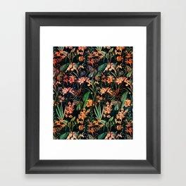Exotic Garden Framed Art Print
