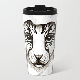 Hooded Cat Travel Mug