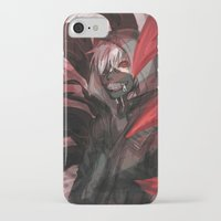 tokyo ghoul iPhone & iPod Cases featuring tokyo ghoul by keiden