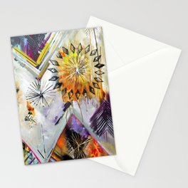 """""""Burn Bright"""" Original Painting by Flora Bowley Stationery Cards"""