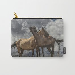 Montana Horses Carry-All Pouch
