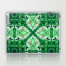 Emerald Leopard  Laptop & iPad Skin
