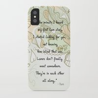 lovers iPhone & iPod Cases featuring Lovers by Zen and Chic