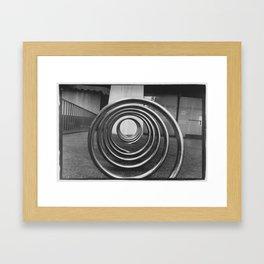 Coil4 Framed Art Print