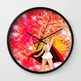 Princess of Power Wall Clock